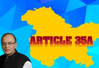 Arun Jaitley made this huge revelation about Article 35A in J&K impact on Indian economy