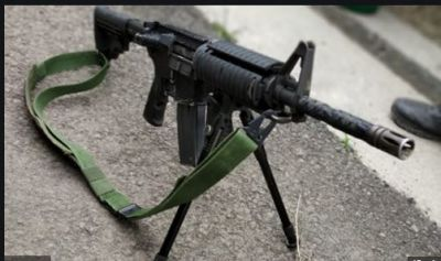 An American M4 sniper rifle recovered in three encounters in J&K