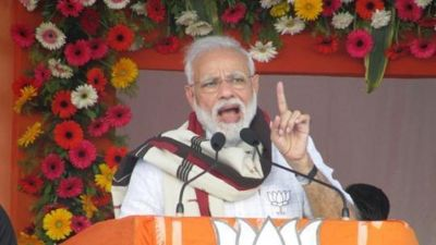 PM Modi attacks oppositions, says they belittling scientists' achievements