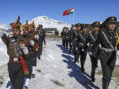 India struggles to cope covid crisis, China quietly hardens positions in Ladakh