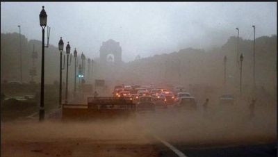Thunderstorm and dust storm likely to hit National Capital Delhi