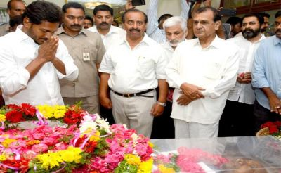 YS Jagan pays Tributes to Justice Subhashan Reddy