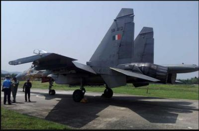 First Time IAF Commander carried out Fighter aircraft operation for war preparedness