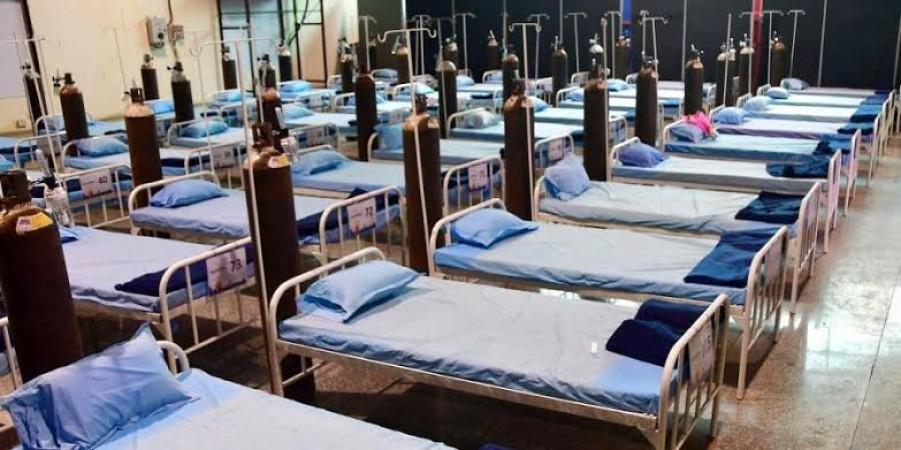 केंद्र ने 10,000 ऑक्सीजन वाले बेड के साथ अस्थायी अस्पताल स्थापित करने की घोषणा की