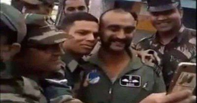 After 2 months Wg Cdr Abhinandan meets his colleagues in J&K