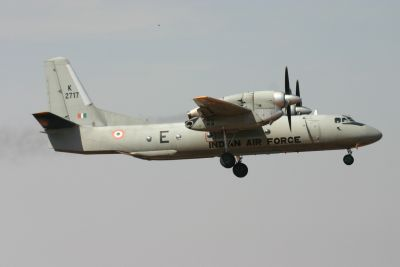 IAF's AN-32 aircraft overruns runway in Mumbai, no injuries