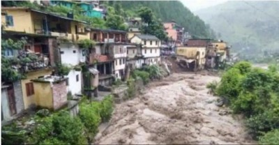 Uttarakhand CM reached Devprayag to take stock of cloudburst affected areas