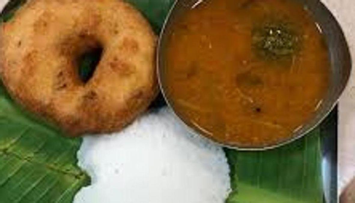Nagpur man finds a dead lizard in vada sambar at Haldiram's outlet