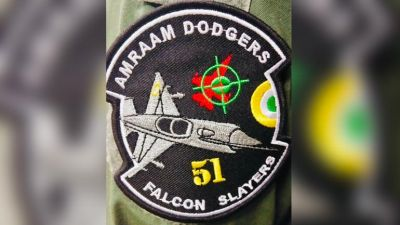 Abhinandan Varthaman's squadron gets new patches to mark F-16 kill