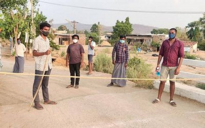Telangana : These two villages set example before others, became Corona free