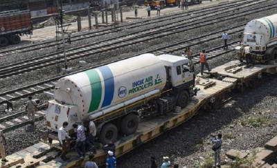 Indian Railways Delivered 11,800 Tonnes of Medical Oxygen across India