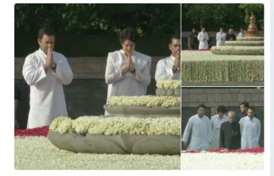 Congress remembers Rajiv Gandhi on his 27th death anniversary