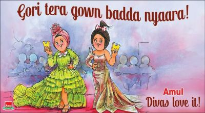Amul's Latest Ad applauds divas' of Cannes 2019