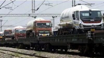 Indian Railways delivers over 1000 MT of Oxygen to Kerala, Tamil Nadu