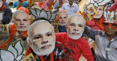 Modi fan: A Man pierced Modiji's name on his chest