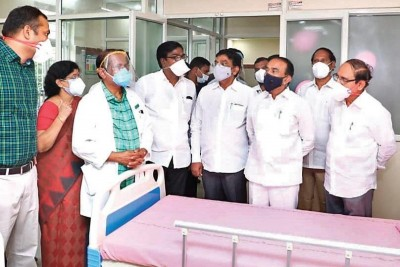 First Covid ward for Children inaugurated, 40 bedded Covid ward set up