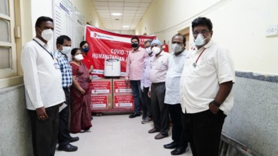 Under #ProtectAMillion mission , AP get 55 oxygen Concentrators in three hospitals