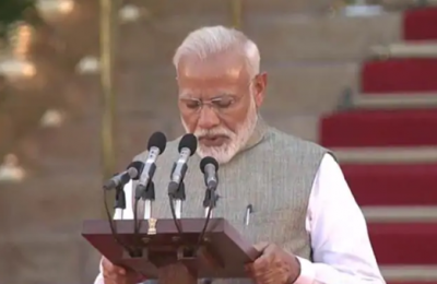 Narendra Modi takes oath as PM for second term,these MPs also get Minister post
