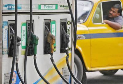 One day before Diwali, the government cut petrol and diesel prices