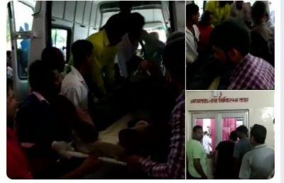 Naxals triggered a blast on a bus near Bacheli in Dantewada, CISF Jawan Among 4 Killed