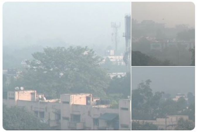 Air quality of Delhi turns hazardous as thick smog engulfs national capital