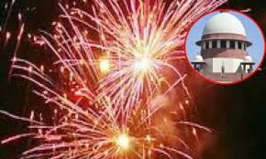 The Supreme Court amended the Telangana High Court order to ban the sale and use of crackers