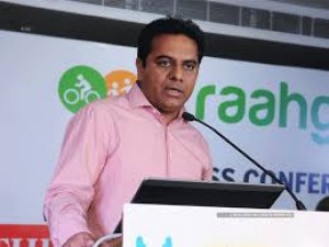 Minister K.T.Rama Rao spoke about the government's relief efforts in Telangana
