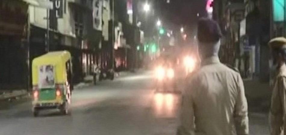 आज से इंदौर समेत इन शहरों में लागू हुआ कर्फ्यू