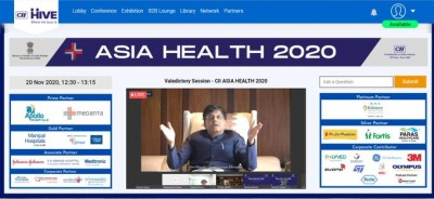 India's part an inevitable and predominant in innovative healthcare solutions, says Goyal
