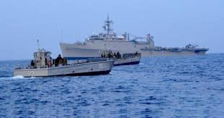 भारत सिंगापुर और थाईलैंड में शुरू हुआ  त्रिपक्षीय समुद्री अभ्यास