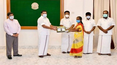 Tamil Nadu government distributed 7.19 crore free Covid 19 masks for free