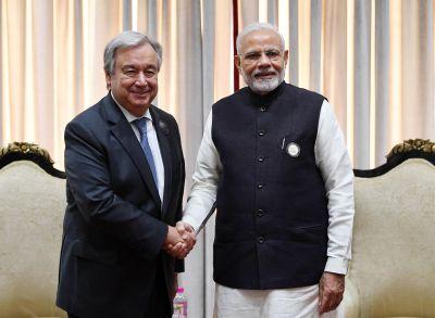 PM Narendra Modi to receive prestigious 'Champions of the Earth' award from UN chief Antonio Guterres shortaly