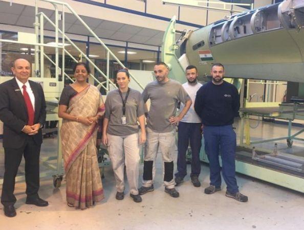 Nirmala Sitharaman visits Dassault Aviation plant in France amid rivals' hullabaloo
