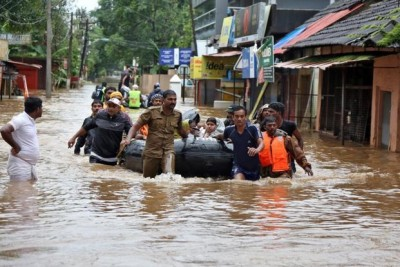 Rescue mission continues for those stuck in floods