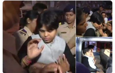 Sabarimala  Protest Live updates: It is an attempt to suppress our voice through Modi : Activist Trupti Desai on being detained by police