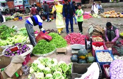 Because of massive rains, the price of veggies surge