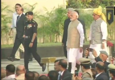 PM Modi attends Police Commemoration Day Parade and dedicates National Police Memorial to nation