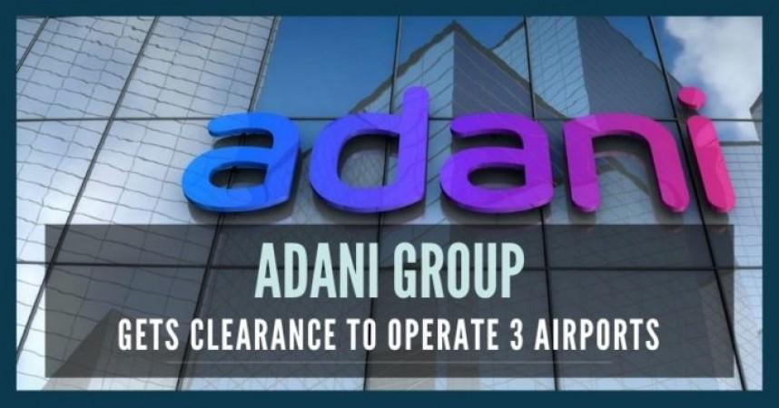 अडानी 31 अक्टूबर से संभालेंगे एयरपोर्ट का संचालन