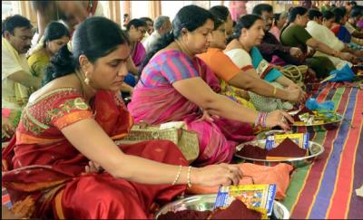 Telangana and Andhra Pradesh celebrate Dussehra, CM greeted people