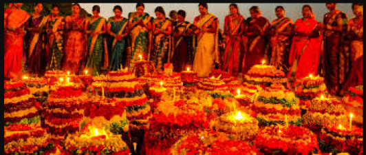 Due to the corona, the festival celebrations in Telangana have decreased