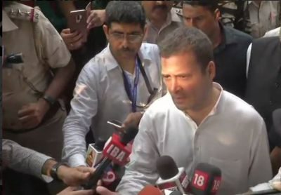 Removing CBI chief will not help. PM can't escape the truth: Rahul Gandhi after leaving Lodhi Colony police station