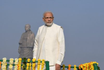 Sardar Patel's statue is a symbol of India's integrity :PM Modi