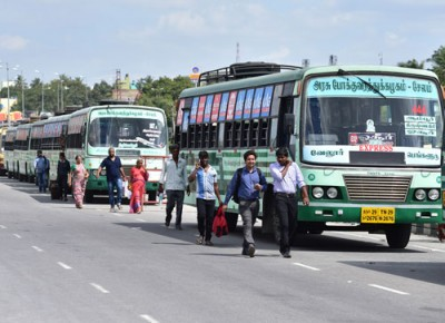 Tamil Nadu: Public transport services resume; 5956 new cases surge!