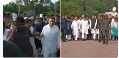 Bhaat Bandh Live updates : Rahul Gandhi arrives at Rajghat to join  protest against fuel price hike