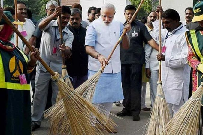 Swachhata Hi Seva Movement : PM Modi to  interact with Swachagrahis from across the country.