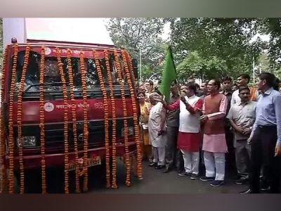 MP CM Shivraj Singh Chouhan flags off 'Swachhta hi Seva' campaign