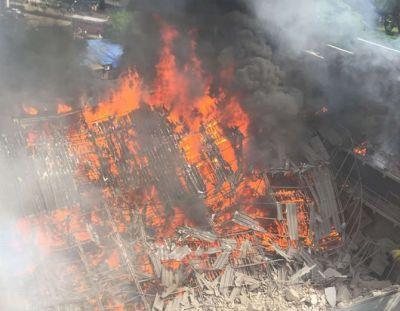 Breaking News: RK Studio blast with short circuit