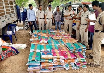 A whopping amount of cannabis seized from Kerala's this district