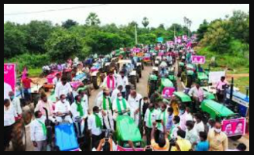 Farmers will organise a tractor rally thanks to CM KCR for this action