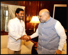 AP CM met union home minister Amit Shah for polavaram project